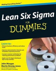Lean Six Sigma For Dummies Book